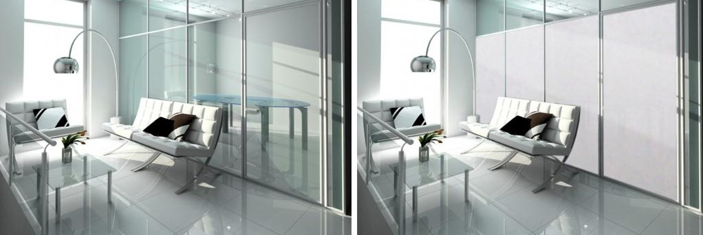 Intelligent Glass - self adhesive film