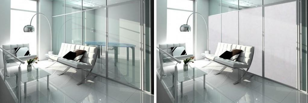 Intelligent Glass - self adhesive film