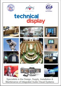Audio Visual Brochure