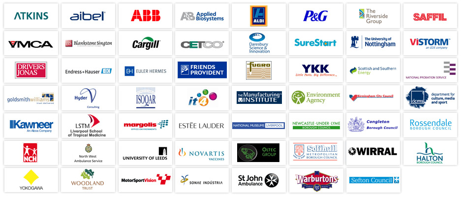 A selection of our clients
